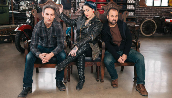 American Pickers Mike Danielle Frank 2
